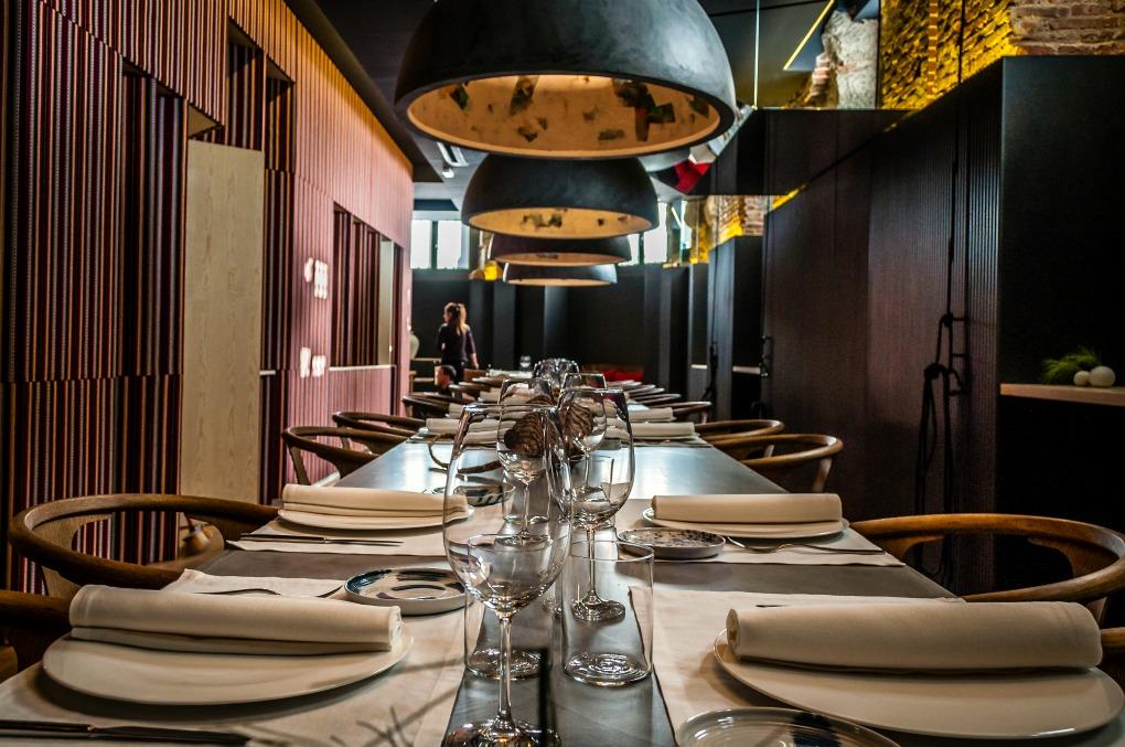 Reservado del restaurante Adunia