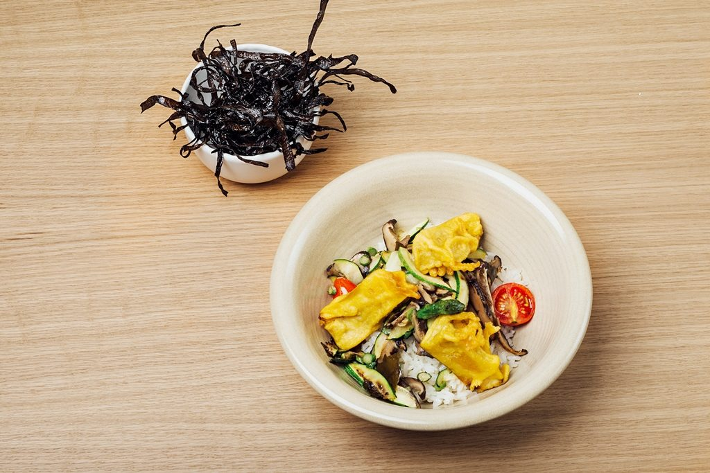 Arroz jazmin al estilo japonés del restaurante Copenhagen