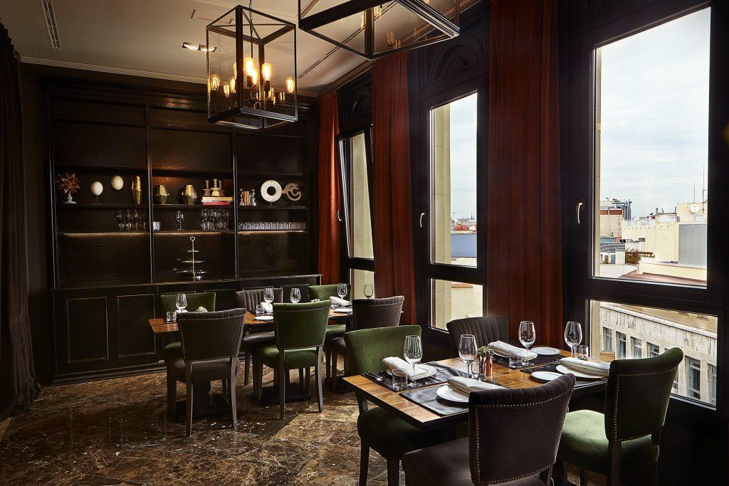 Espacio privado del restaurante Ático