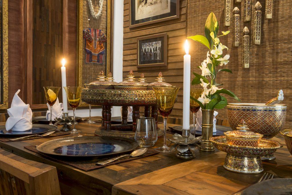Miles de elementos decorativos te trasladan a la Tailandia profunda