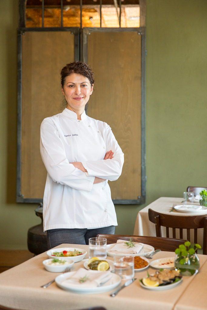 La chef Deniz Sahin