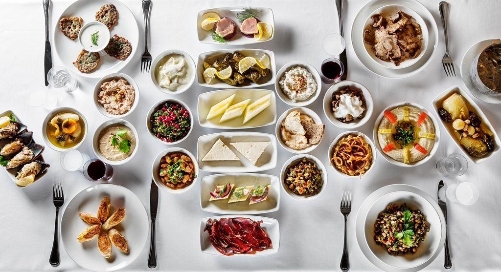 Detalle de mesa del restaurante Kiva