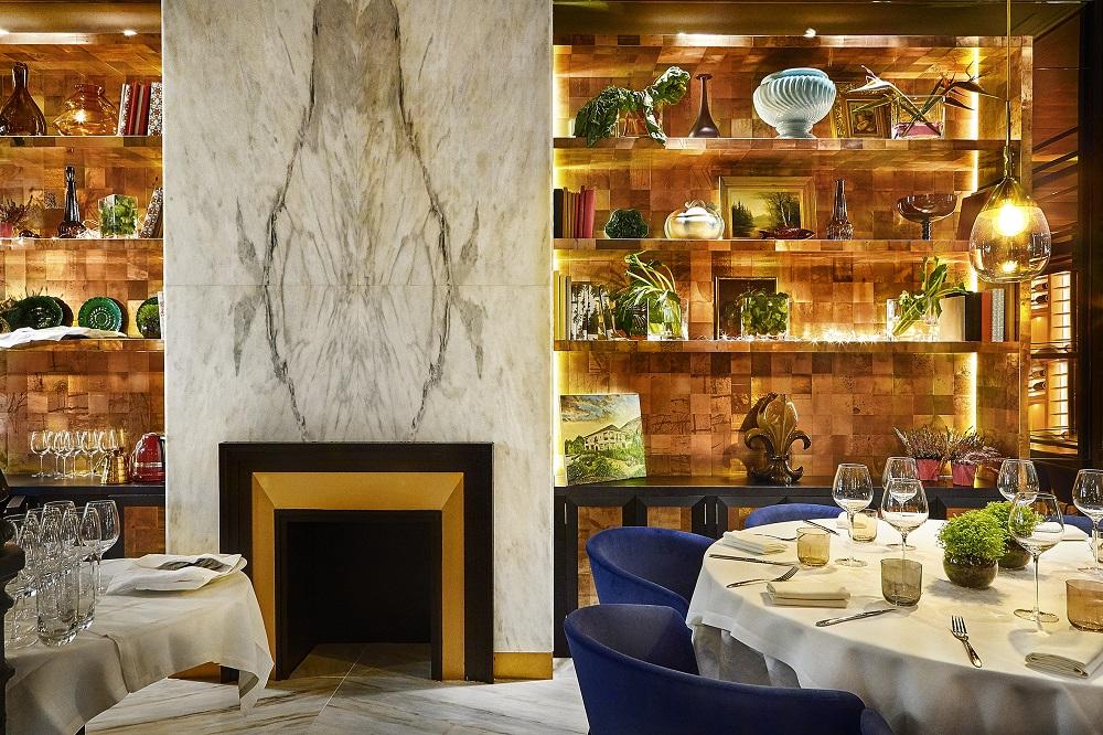 Interior del restaurante Huerta de Carabaña