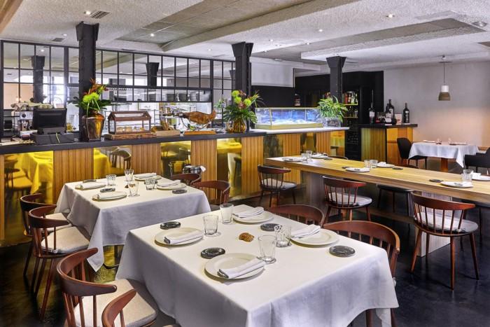 Comedor del restaurante Materia