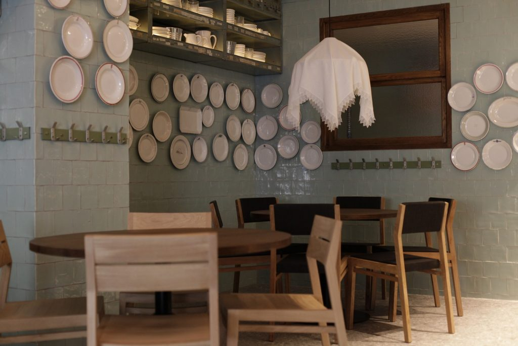Interior del restaurante Carmen Casa de Cocidos