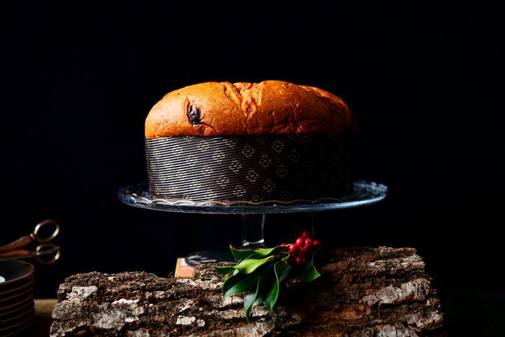 Panettone de Attilio Servi que se puede adquirir en navidades en al tienda de Marco Pasta Fresca de Madrid