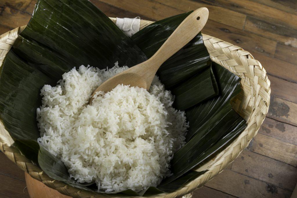 Thai Hom Mali o arroz basmático blanco, un clásico entre los clásicos de Thai Garden