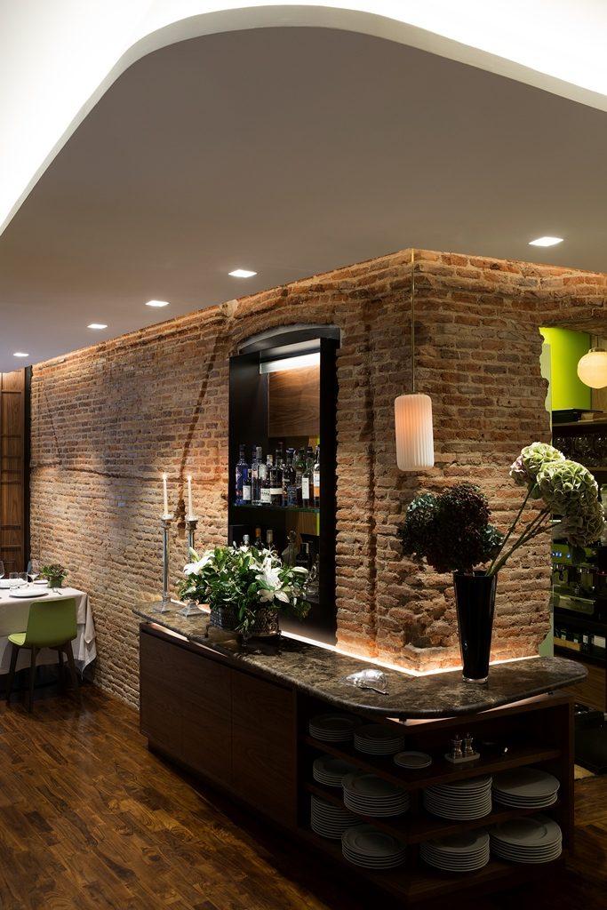 Interior del restaurante HORTENSIO