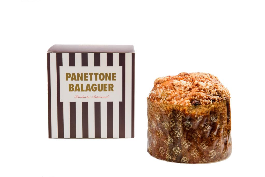 El panettone de gianduja con castañas es el más emblemático de Oriol Balaguer