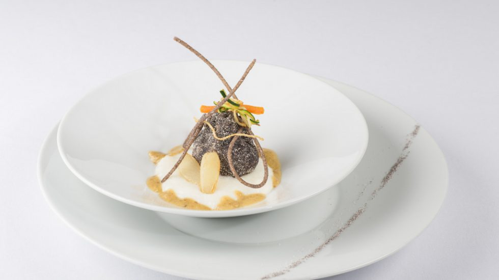 Uovo morbido, un must de la carta del restaurante Gioia