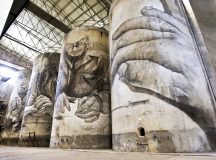 Catedral del Vino por la impactante obra de Guido van Helten