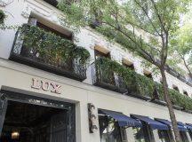 La fachada de LUX