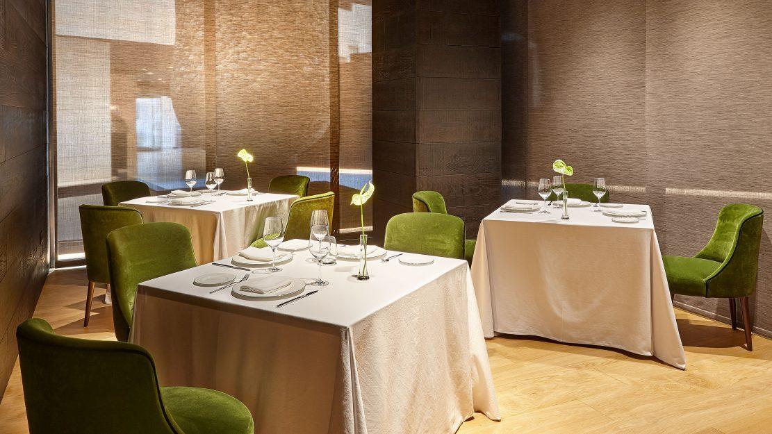 Un descubrimiento en bilbao el restaurante beltz del - Restaurante hotel domine bilbao ...